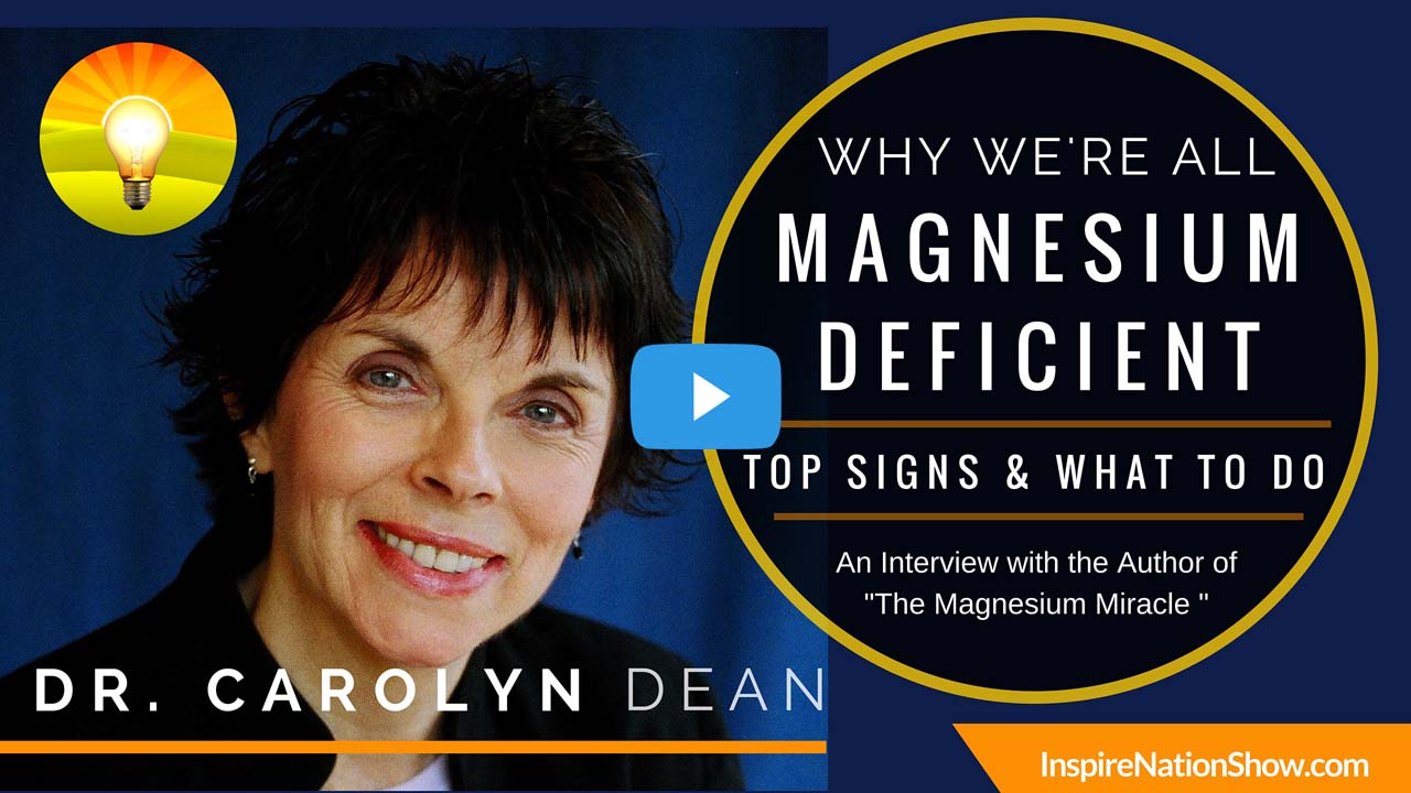 Why We U0026 39 Re All Magnesium Deficient