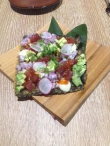 tuna appetizer Reverie