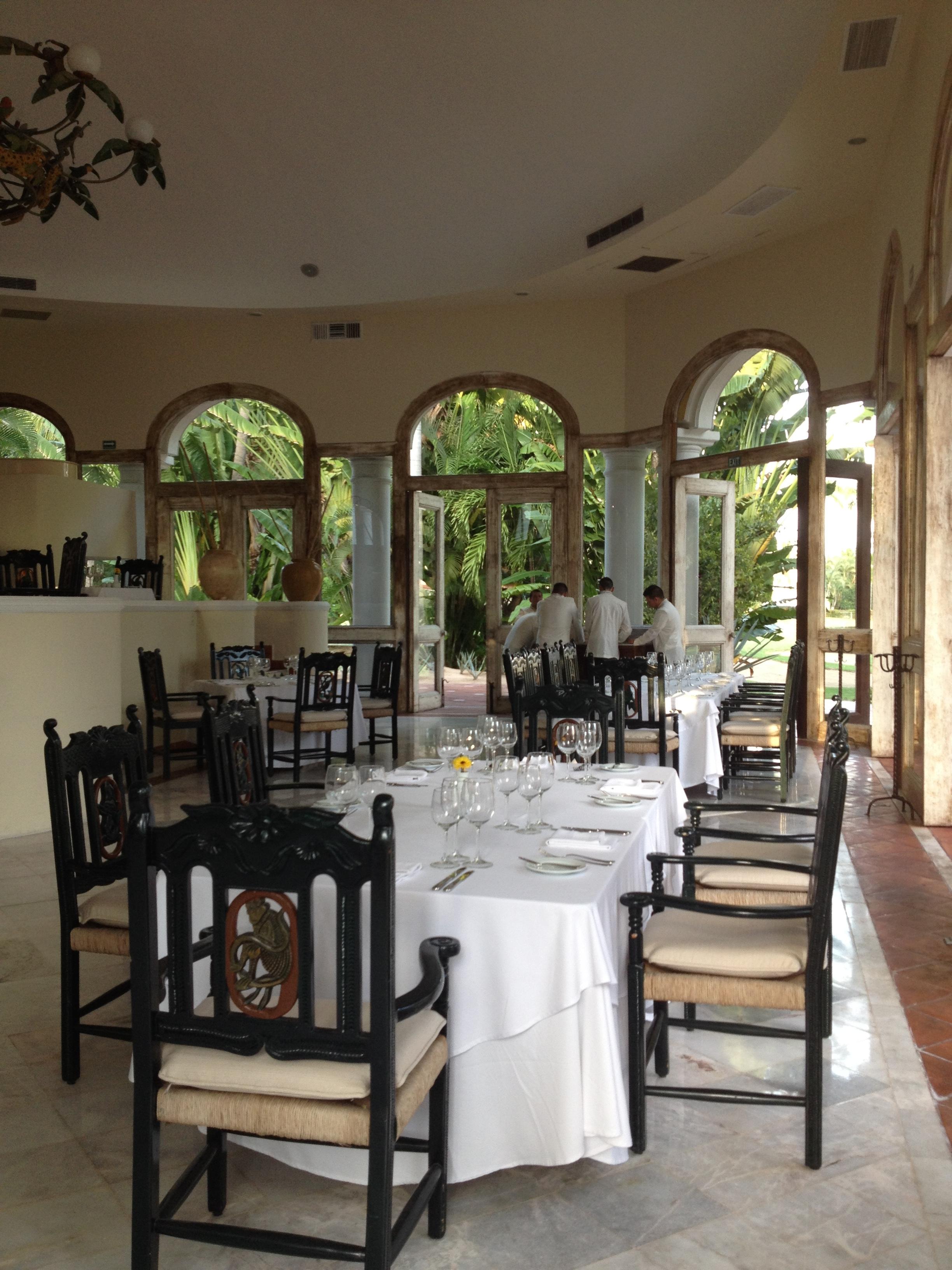 Inspiring Kitchen Casa Velas Emilianos Restaurant dining