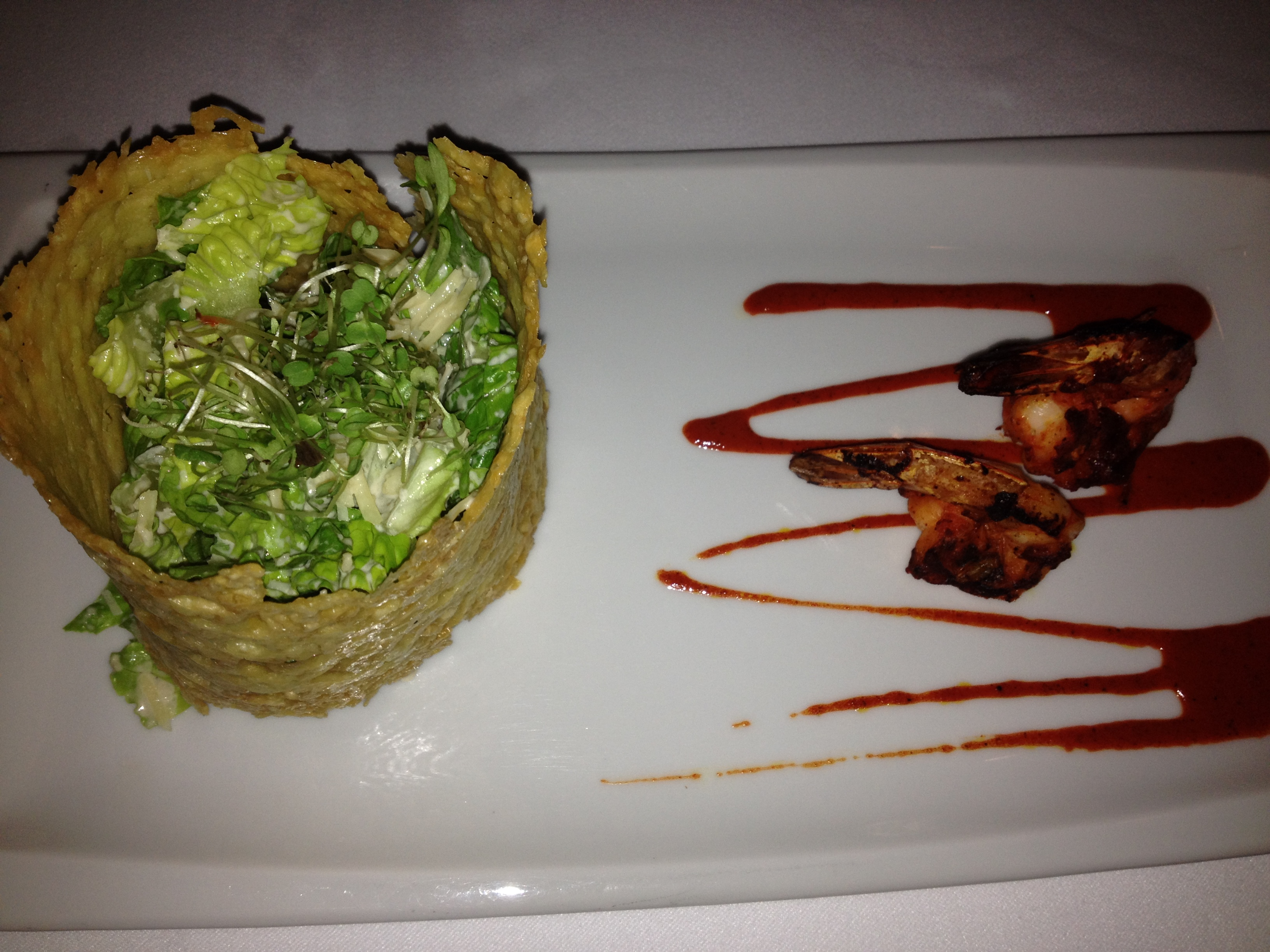 Inspiring kitchen  Casa Velas Emilianos Shrimp dining