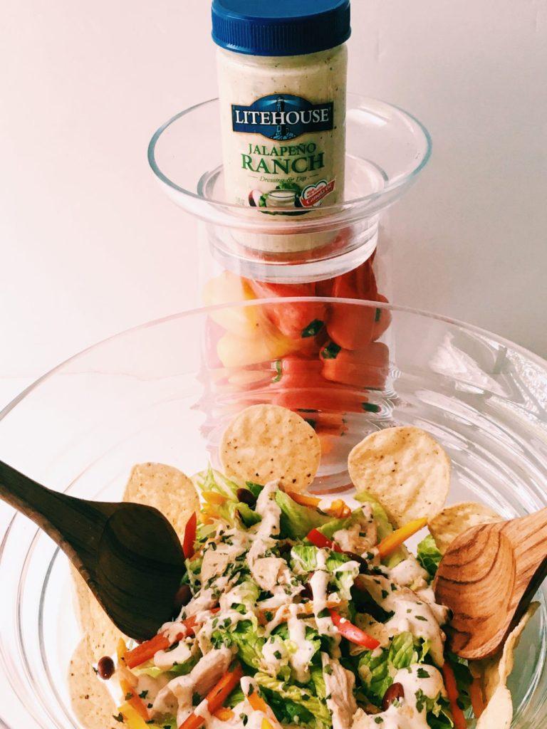 Jalapeno Ranch Chicken Salad