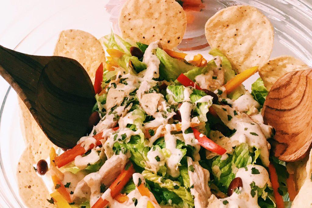 InspiringKitchen.com Tequila Marinated Chicken Salad with ...