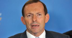 Prime Minister of Australia, Tony Abbott