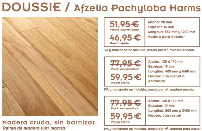 Oferta de tarima for Suelos de madera maciza