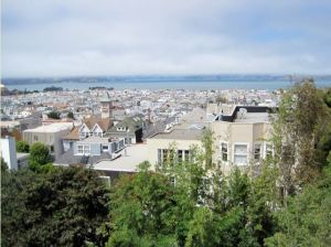 Broadway, San Francisco view with Vivax 28'