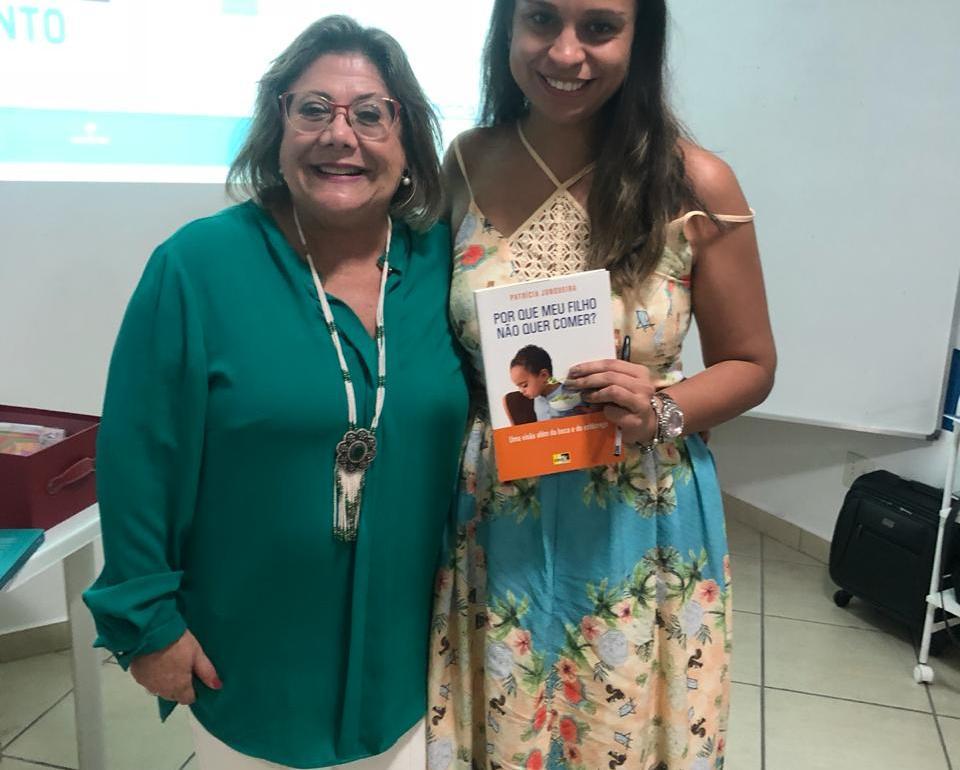 Dra. Lucia Coutinho e livro Por que meu filho não quer comer? Uma visão além da boca e do estômago.