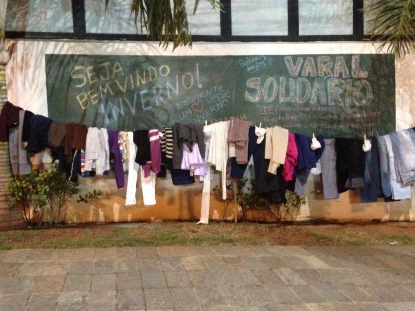 Fruto Urbano Solidário faz ação de inverno