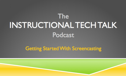 005 – Getting Started with Screencasting