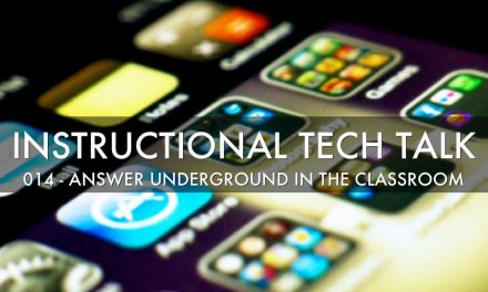 014 – Answer Underground in the Classroom