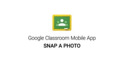 How to Snap a Photo in Google Classroom