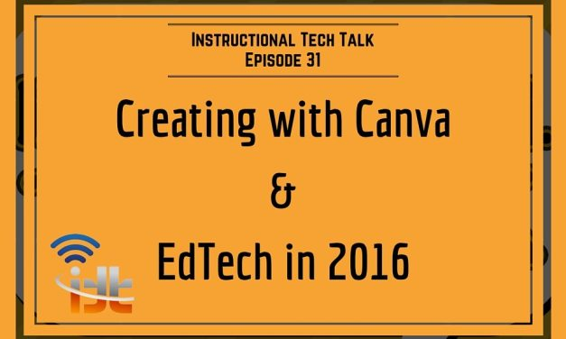 31 – Creating with Canva, EdTech in 2016