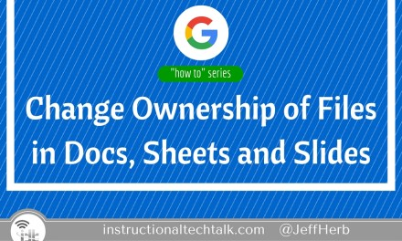 Change Ownership of Google Docs, Sheets, or Slides in Drive