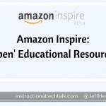 Amazon Inspire: Free Educational Resources for Educators