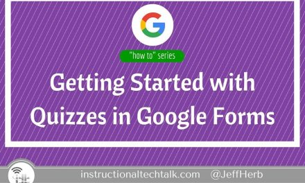Getting Started with Quizzes in Google Forms