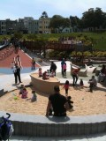 Mission Delores park and play ground