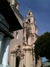 Basilica next to Mission Delores