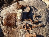 Rusty remnants of a possible stove, Folsom Lake, History