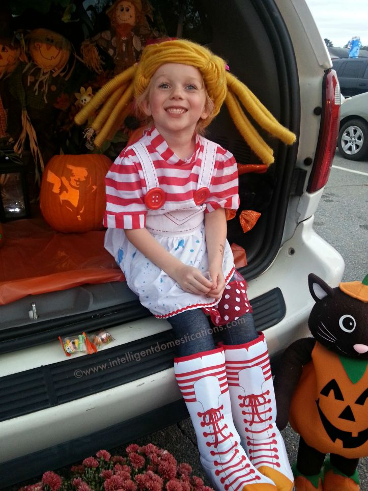 Lalaloopsy costume for Trunk or Treat.www.intelligentdomestications.com
