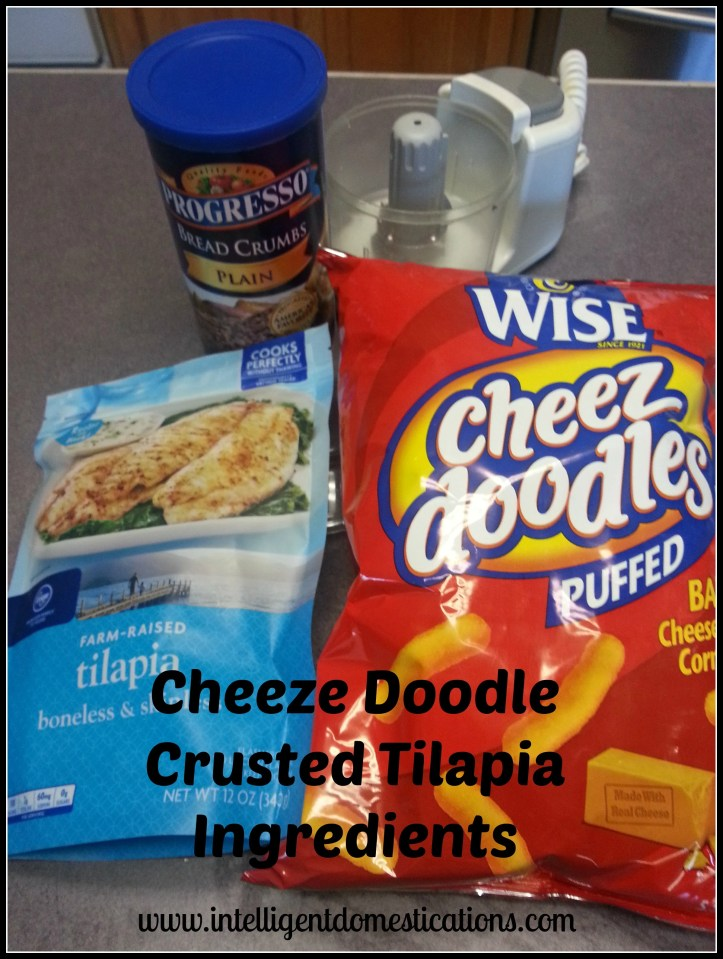 Cheeze Doodle Crusted Talipia Ingredients. Intelligentdomestications.com