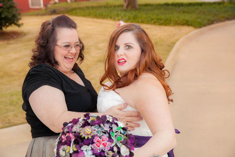 Caption this Wedding Photo