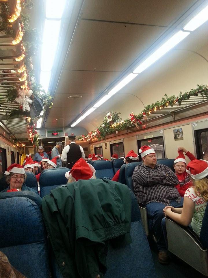 Santa hats for everone