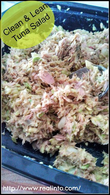 Clean & Lean Tuna Salad by Real Into