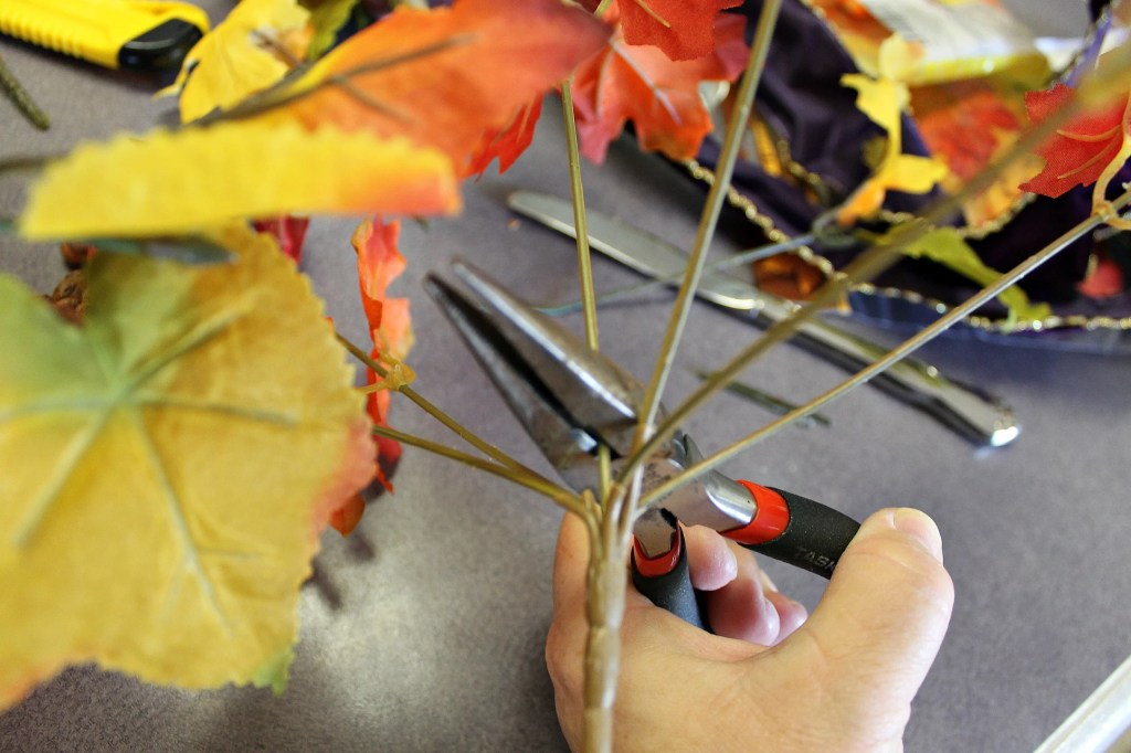 Use a pair of snips to cut the stems to your desired length.intelligentdomestications.com