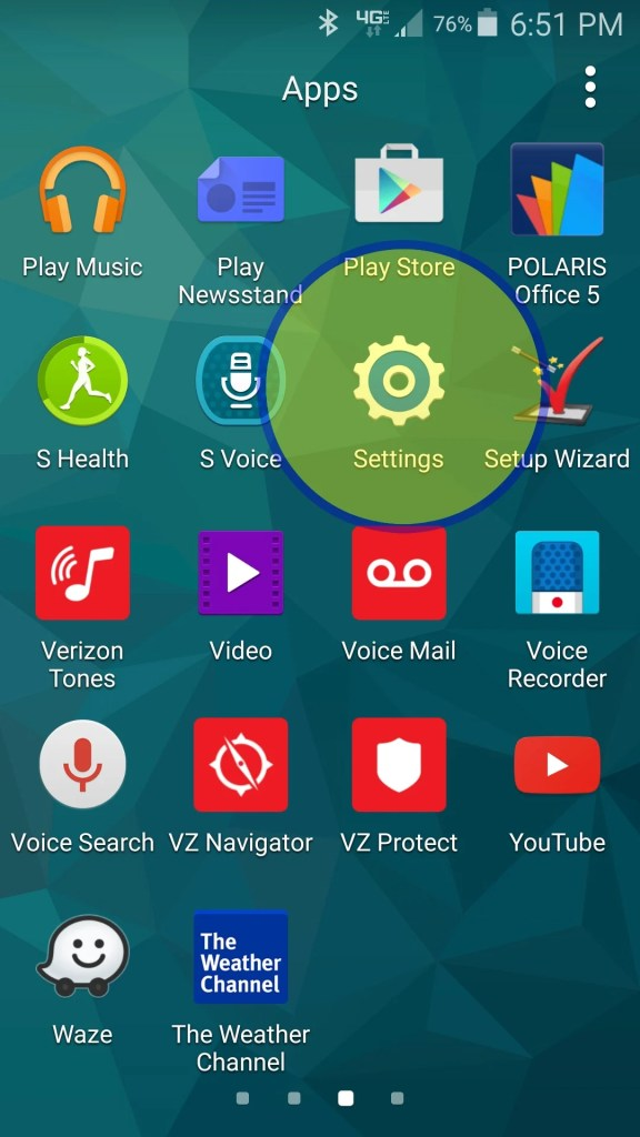 How to turn off locations on your Android phone. Begin by going into Settings