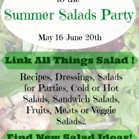 Summer Salads Linky Party