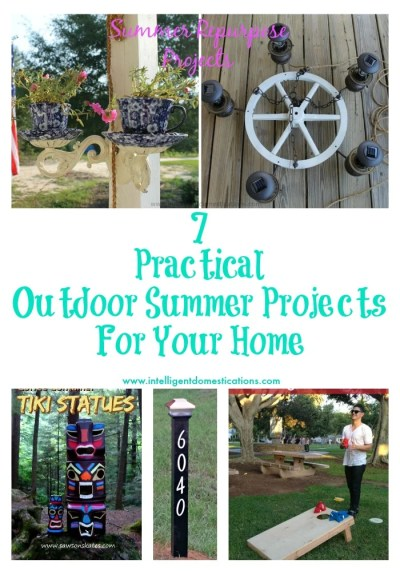 7 Practical Outdoor Summer Projects for Your Home by www.intelligentdomestications.com