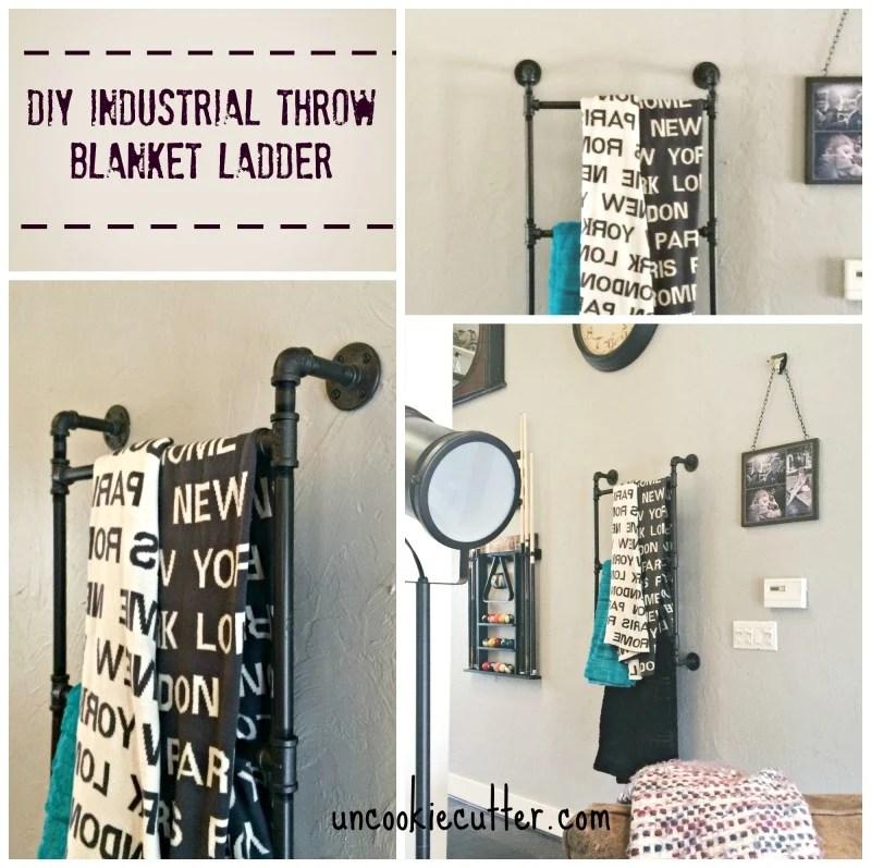 Industrial blanket wall ladder
