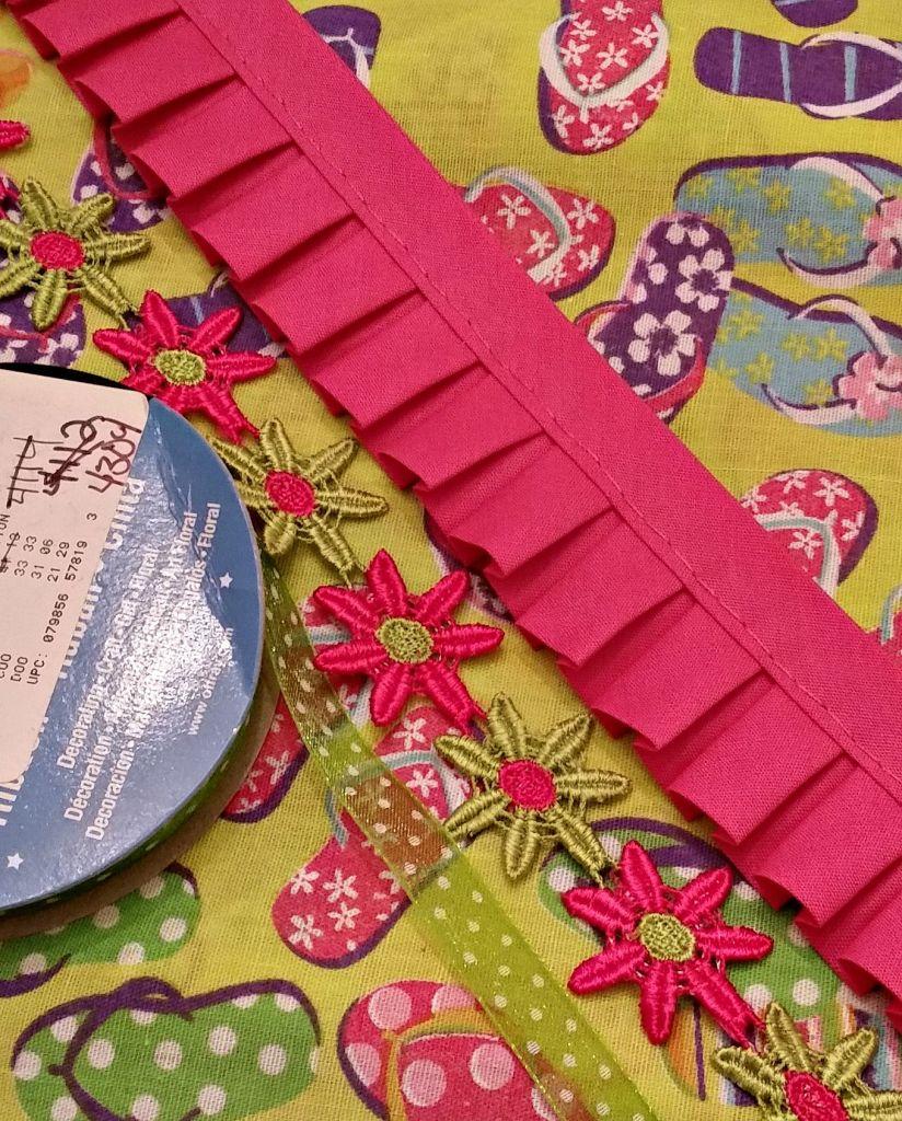 Sew a simple Little girls Summer Bandana top. supplies.www.intelligentdomestications.com