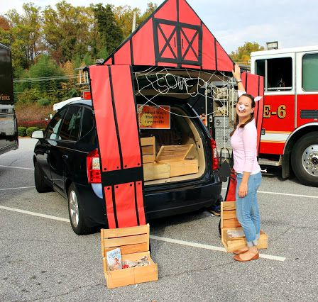 Charlottes Web Trunk or Treat design by Beyond the Cookie Cutter