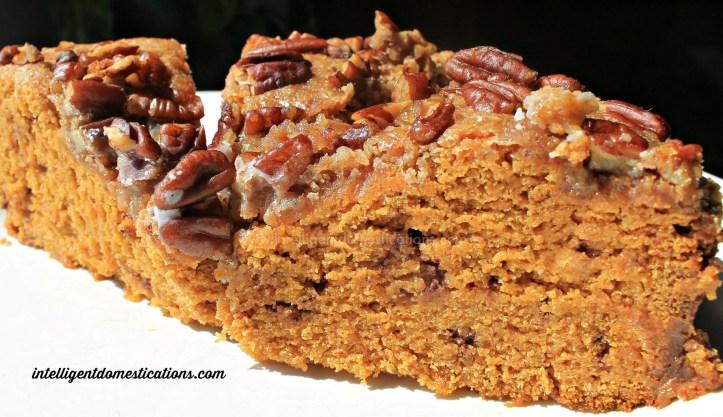 Crockpot Struesel Pumpkin Coffee Cake.intelligentdomestications.com