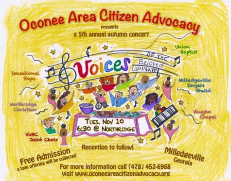 Oconee Milledgeville Concert