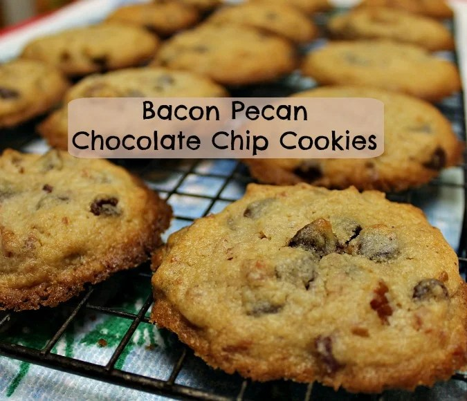 Bacon Pecan Chocolate Chip Cookies.spreadthecheer.intelligentdomestications.com
