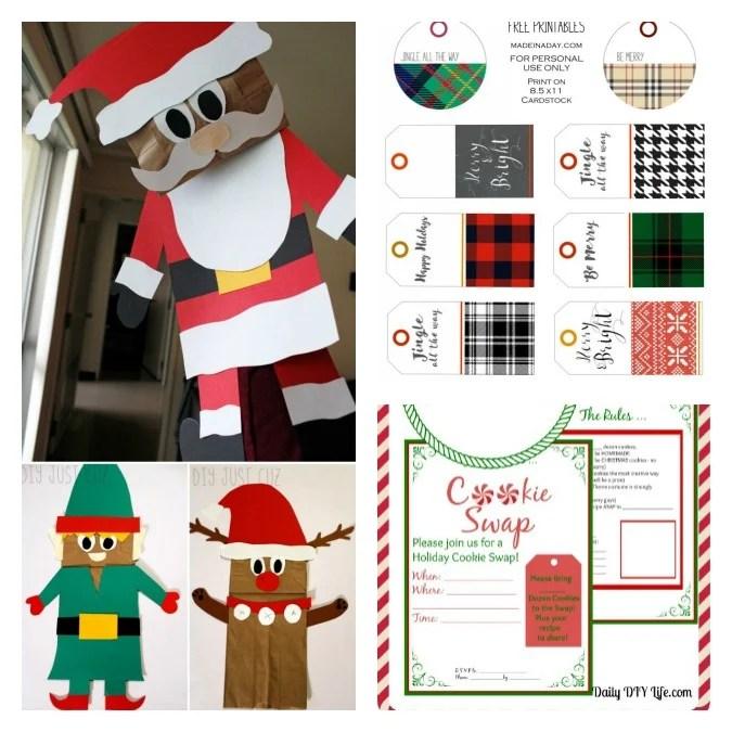 Free Printables for 12 Days of Christmas. 1.intelligentdomestications.com