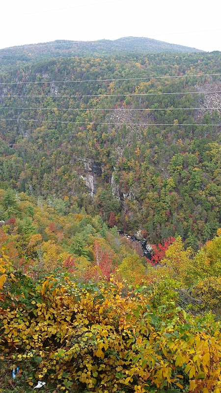 Tallulah Gorge in the Fall of 2015
