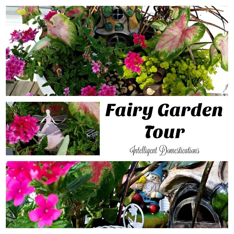 My Fairy Garden Tour 2016