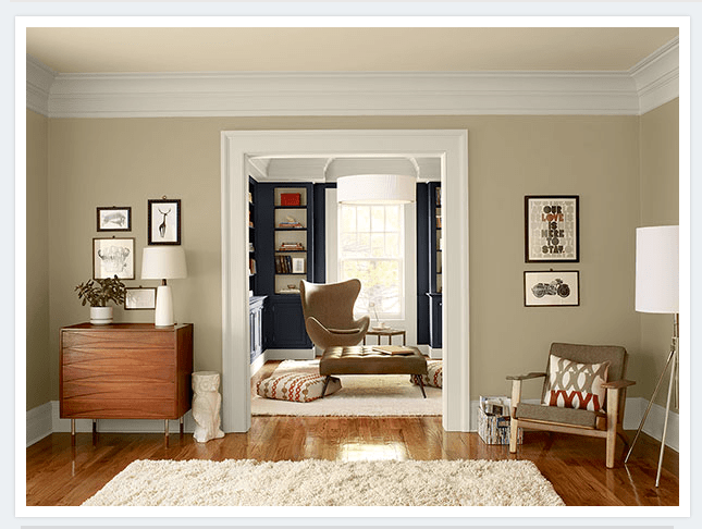 Benjamin Moore Gray Beige Paint Colors