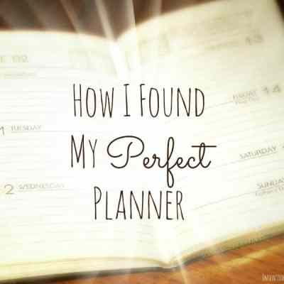 How I Found My Perfect Planner