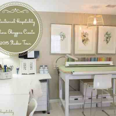Where Bloggers Create 2015 Studio Tour