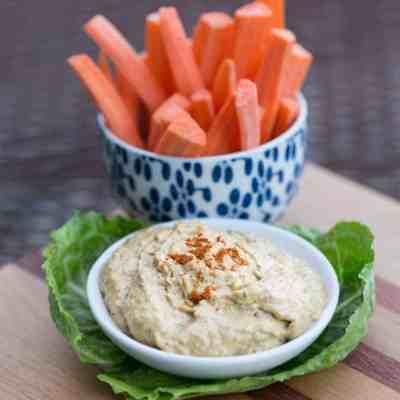 Thai Peanut Hummus Recipe