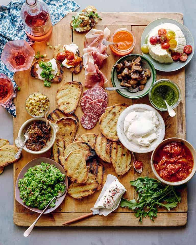 DIY Bruschetta Bar