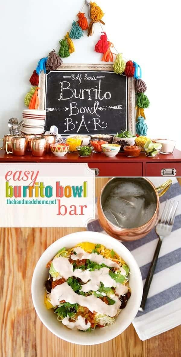 Easy Burrito Bowl Bare