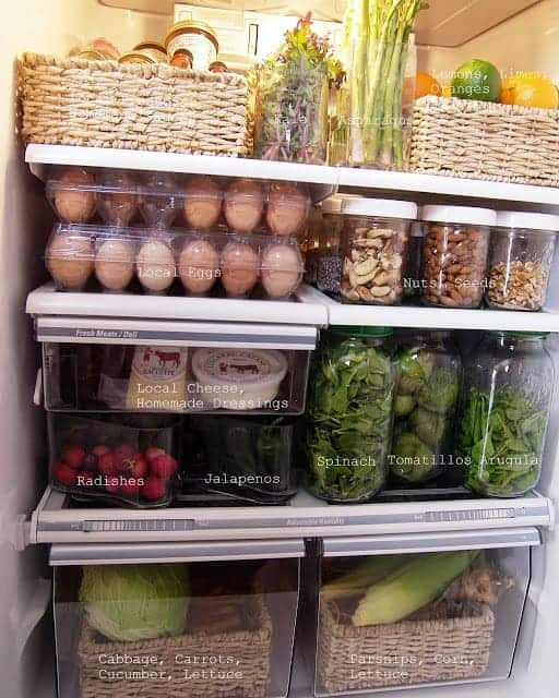 Organizing Your Refrigerator Tips and Tricks With Free Printable