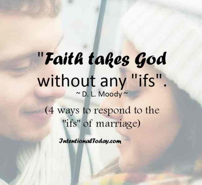 4 ways to respond when marriage problems overtake your faith