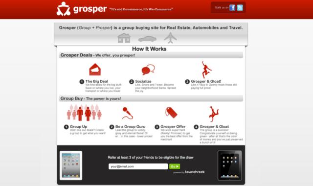 grosper homepage