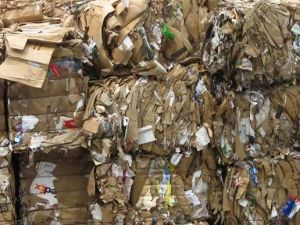 waste paper recycling bails