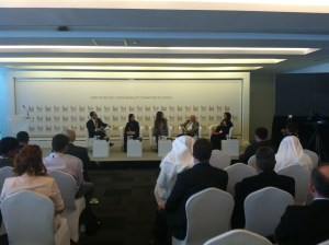 ADSW 2014 Panel Zayed